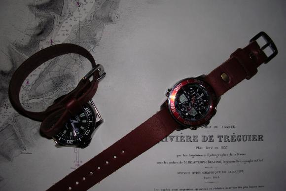 Leather Nato/ Zulu Watch Bands Canada